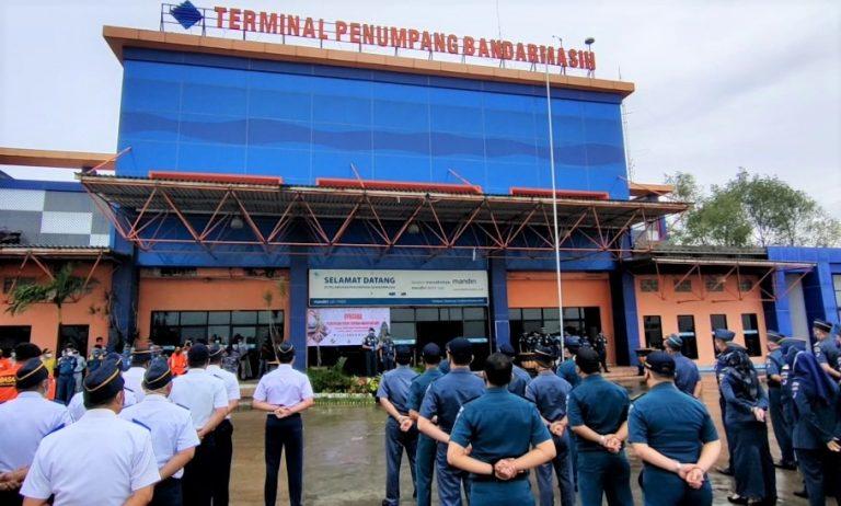 KSOP Kelas 1 Banjarmasin Gelar Pasukan Dan Buka Posko Nataru di Pelabuhan