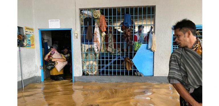 Rutan Banjir, Warga Binaan Barabai Dievakuasi