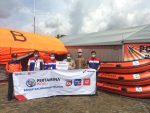 Dukung Penanganan Banjir, Pertamina Bantu BPBD Kalsel Perahu Karet Dan Tenda Pleton