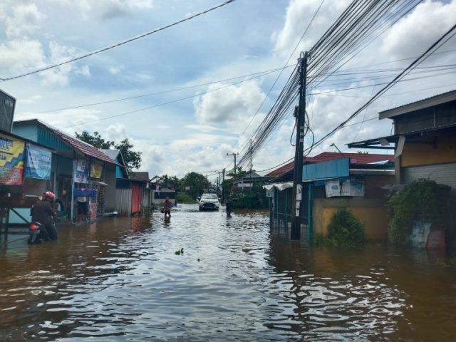 Masih Terendam Banjir, Kawasan Manarap Kertakhanyar Butuh Bantuan Secepatnya