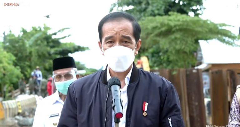 Tinjau Banjir di Kalsel, Ini Kata Pak Jokowi