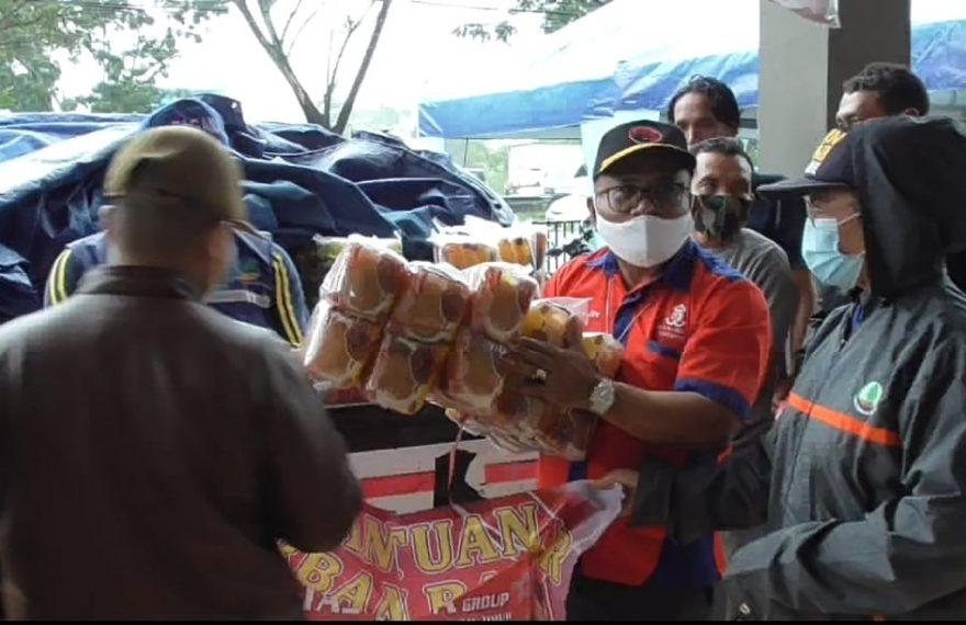 penyaluran bantuan sosial (foto:duta tv)