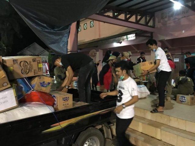 Aksi Milineal Sahabat Muda Tanbu Salurkan Bantuan Korban Banjir Ke Tanah Laut