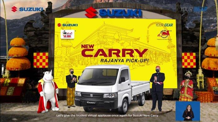 launching Suzuki New Carry Pick Up