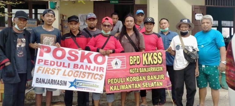 FIST Logistik dan KKSS Salurkan Bantuan Kepada Pengungsi
