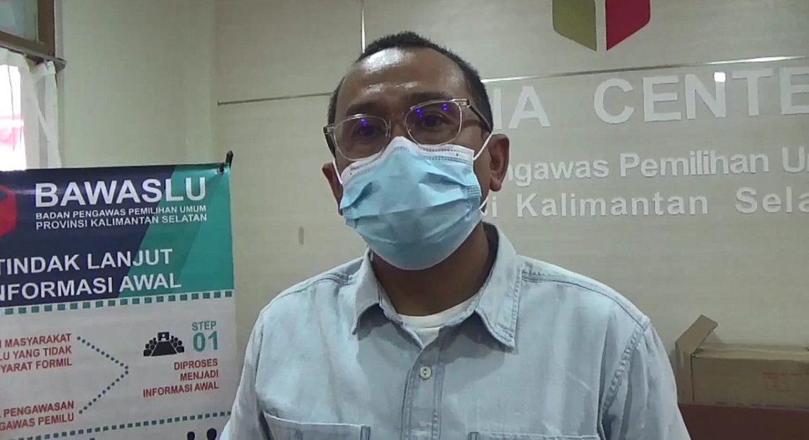 Nur Kholis Majid, anggota Bawaslu Kalsel