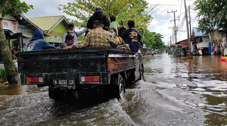 Debit Air Di Desa Semangat Dalam Batola Mulai Turun