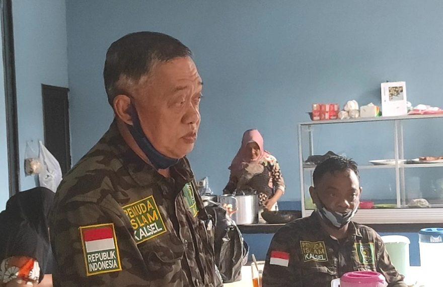 ketua DPD Pemuda Islam Kalimantan Selatan, H Muhammad Hasan