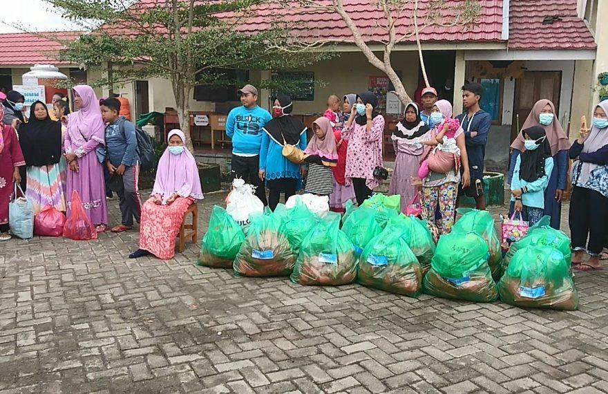 pengungsi Posko Wella dipulangkan (foto:duta tv)