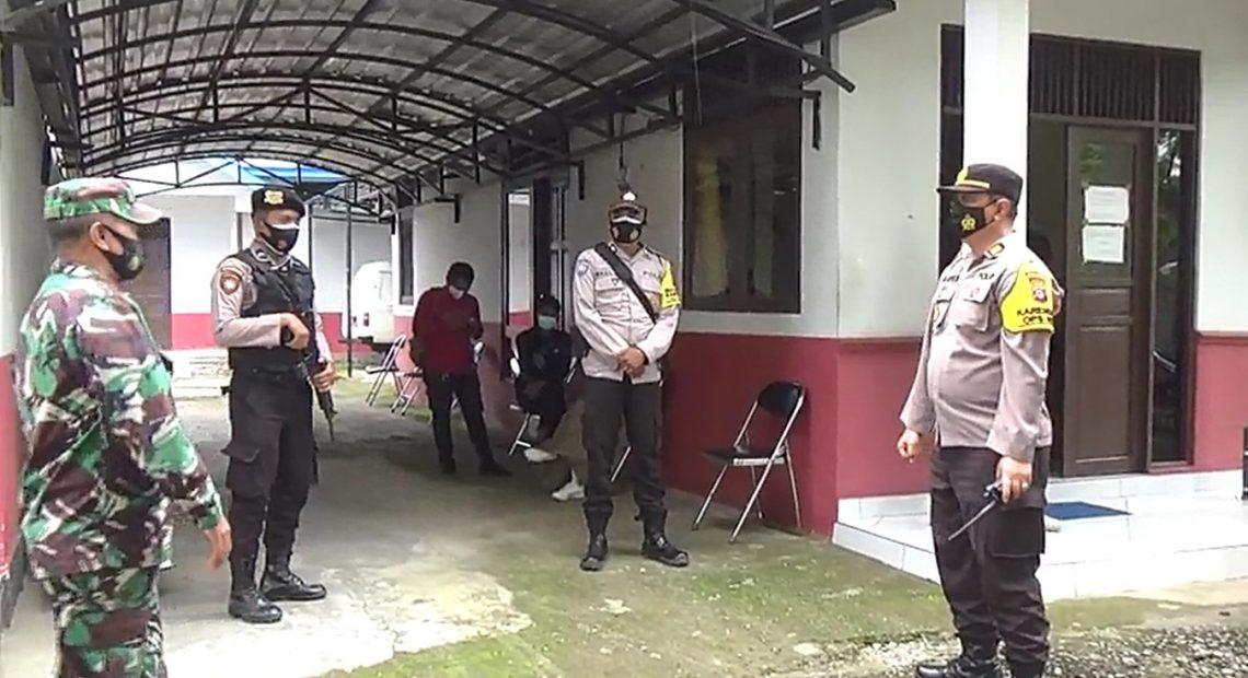 penjagaan vaksin Sinovac di Bumi Antaludin (foto:duta tv)
