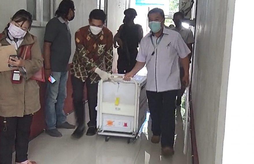 vaksin Sinovac datang ke Bumi Antaludin (foto:duta tv)