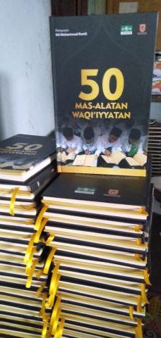 "Buku ""Mas'alatan Waqi'iyyatan"""
