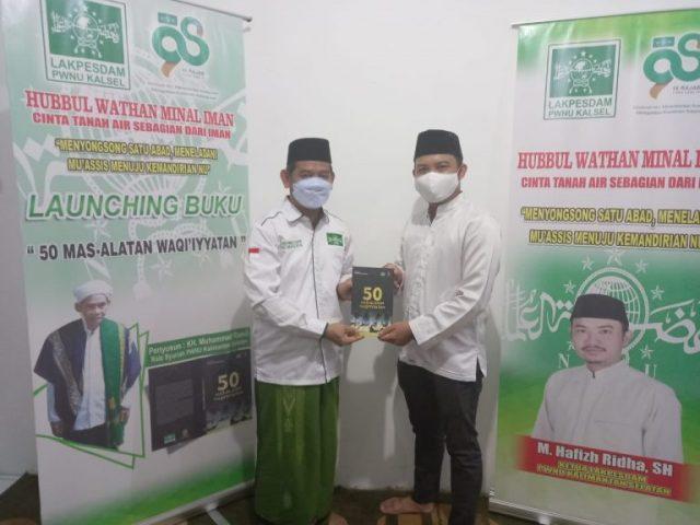 """Sambut Harlah NU ke-98, Luncurkan Buku """"50 Mas'alatan Waqi'iyyatan"""""""