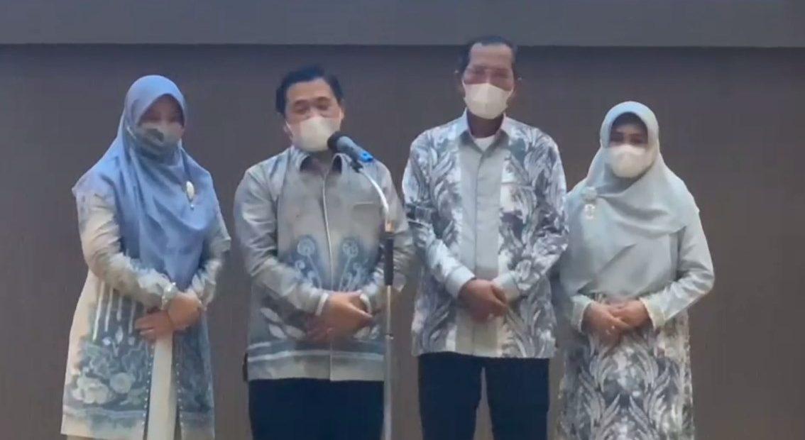 Ibnu-Herman menyampaikan salam perpisahan (foto:duta tv)