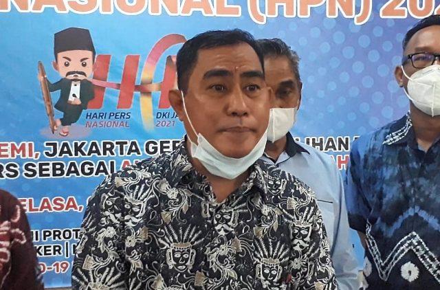 ketua PWI Kalsel, Zainal Helmie