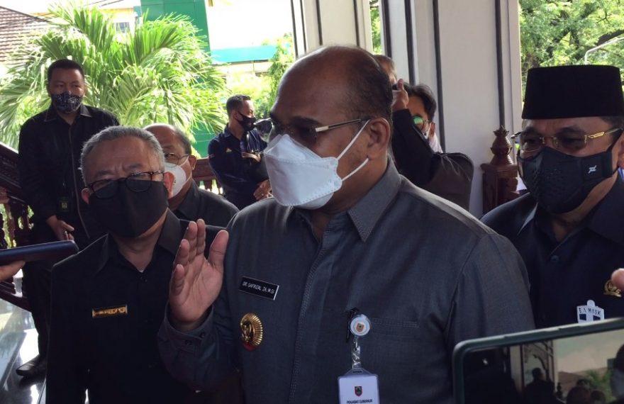 Safrizal ZA, Pj Gubernur Kalsel