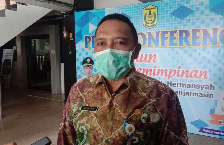 Mukhyar, Plh Wali Kota Banjarmasin (foto:duta tv)