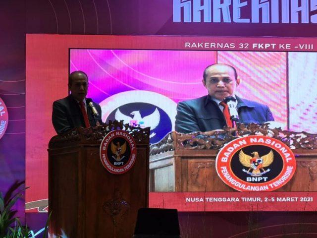 Kepala BNPT Komjen Boy Rafly: FKPT Pejuang Antiradikalisme Intoleran