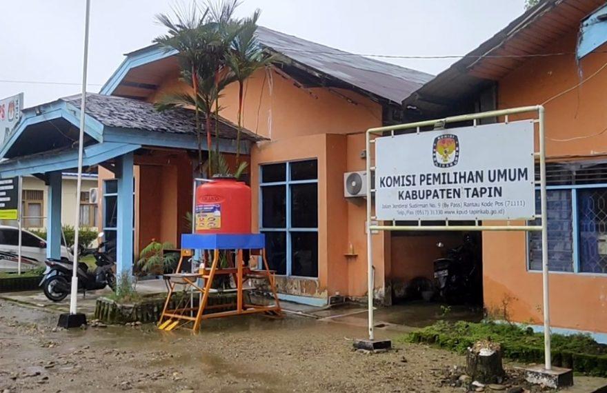 KPU Kabupaten Tapin (foto:duta tv)