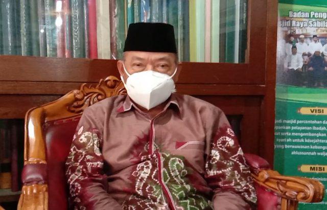Darul Quthni pengurus Masjid Raya Sabilal Muhtadin