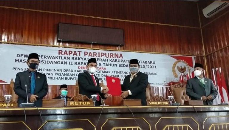 Rapat Paripurna DPRD Kotabaru