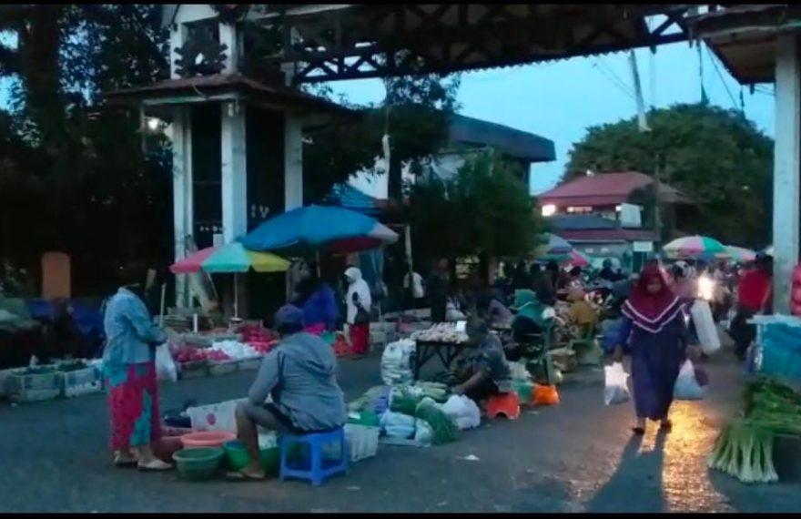 kawasan Pasar Subuh Banjarbaru (foto:duta tv)