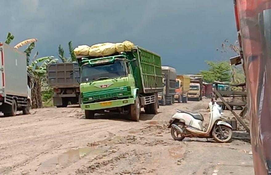 kondisi Jalan Lingkar Gubernur Syarkawi