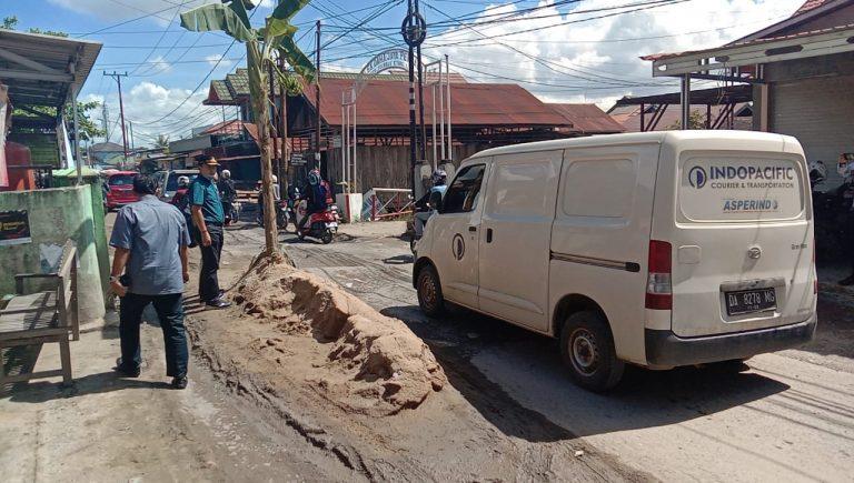 DPRD Banjarmasin Desak Pemko Perbaiki Jalan Cemara Ujung