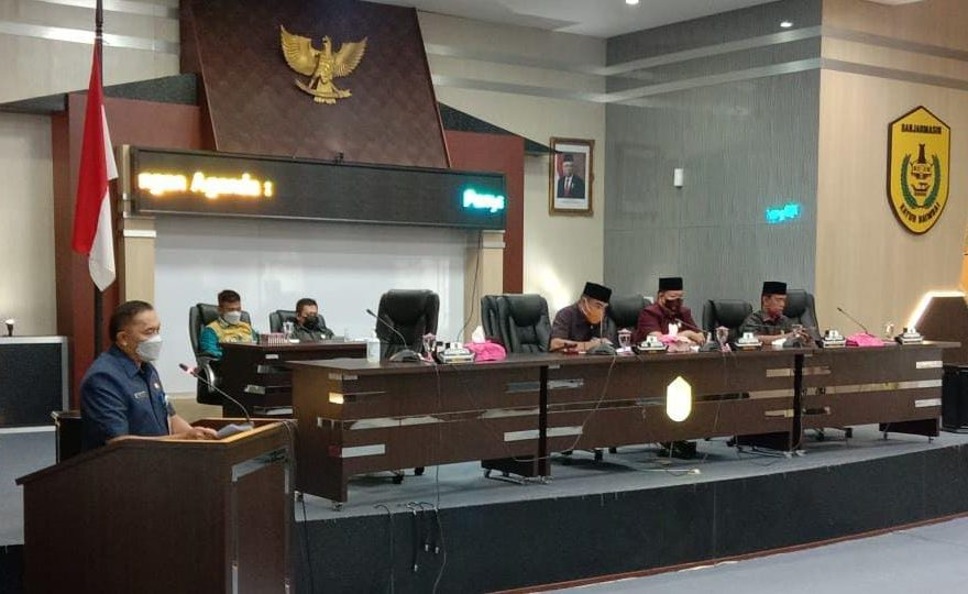 DPRD menjadwalkan pembahasan Laporan Keterangan Pertanggung Jawaban Wali Kota Banjarmasin (foto:duta tv)