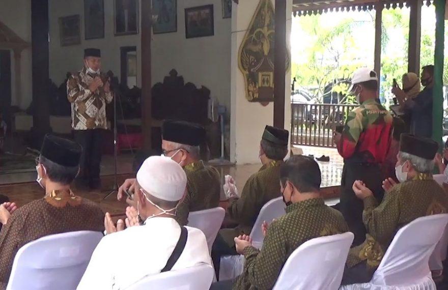 Direktorat Intelkam Polda Kalimantan Selatan, melakukan sarasehan bersama forum silaturahmi jawa banjar atau Forsiwajar