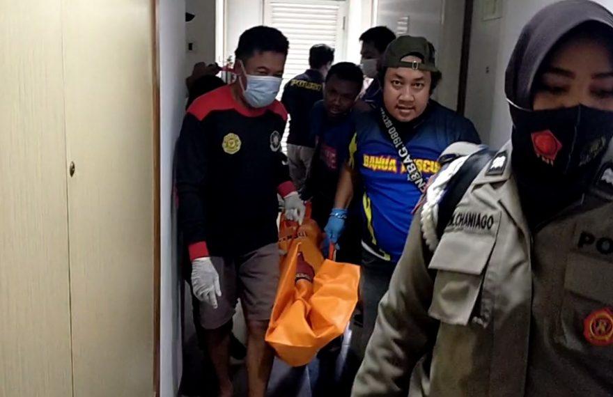 dok : proses evakuasi jenazah (foto:duta tv)