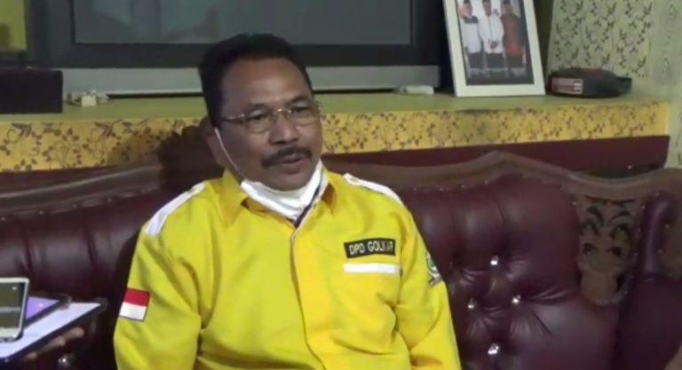 sekretaris DPD Golkar Kalsel H. Supian HK