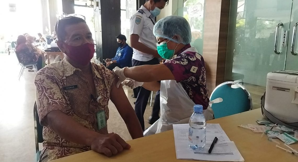 Kegiatan Vaksinasi di Kota Banjarmasin(foto: dutatv)