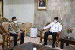 kunjungan PT PLN (Persero) Kalselteng kepada Pj Gubernur Kalsel, Safrizal ZA
