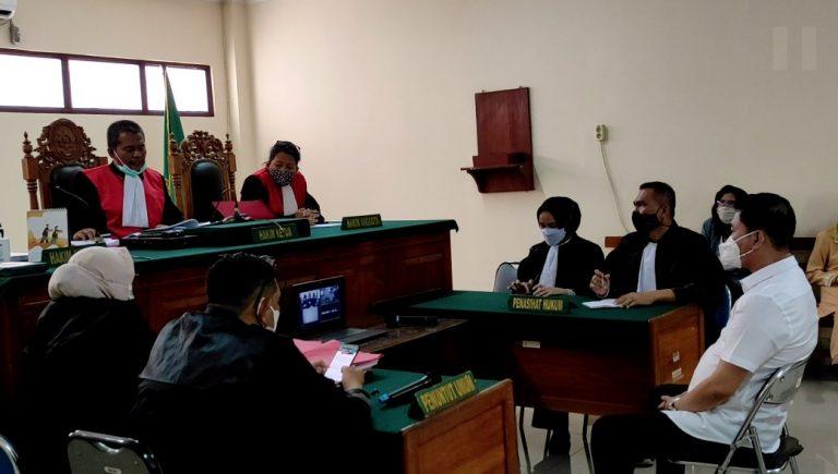 Pengadilan Negeri Banjarmasin menggelar persidangan Edy Suryadi