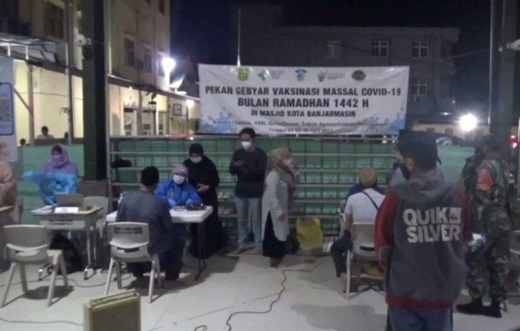 Vaksinasi Sasar Tempat Ibadah (foto: Duta Tv)
