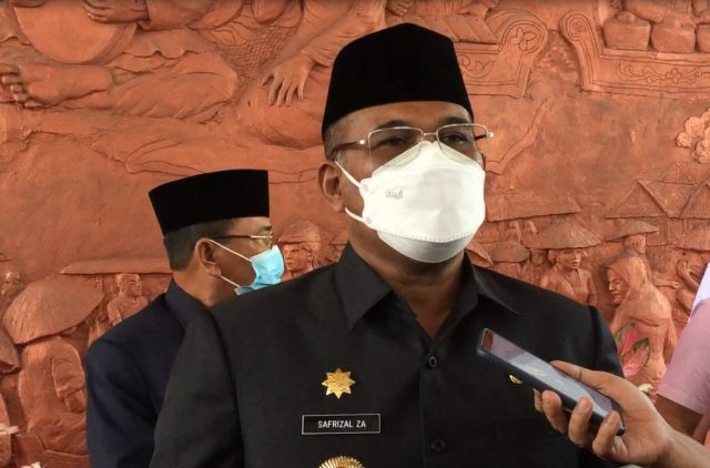 Safrizal ZA PJ Gubernur Kalsel