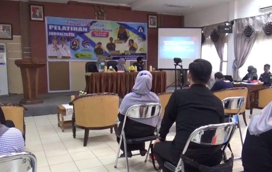 Forwah HSS Gelar Pelatihan Jurnalistik