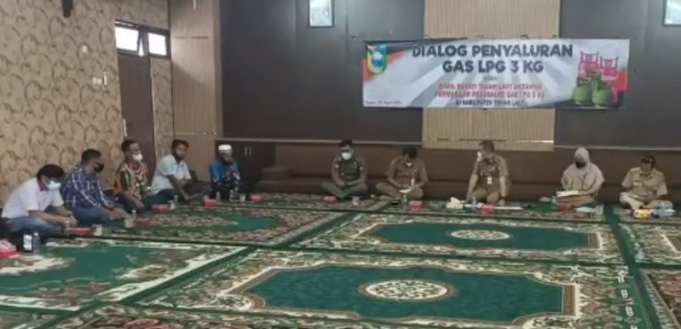 Dialog Penyaluran Gas LPG 3 KG (Foto: Duta Tv)