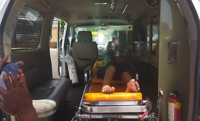 Eca si Putri Tidur Dibawa ke RS