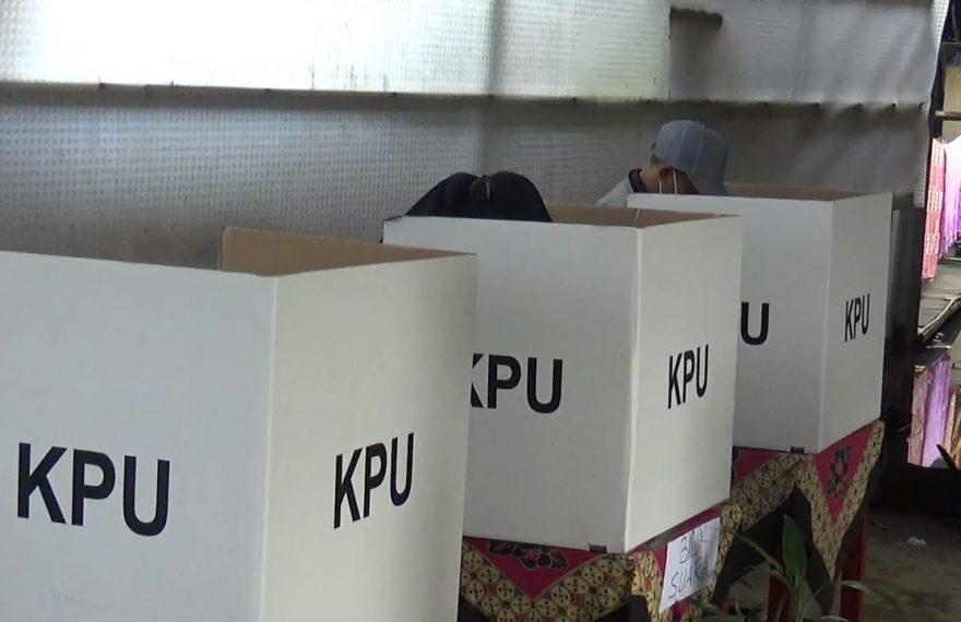 PSU di TPS 16 Kelurahan Murung Raya, Banjarmasin Selatan (foto:duta tv)