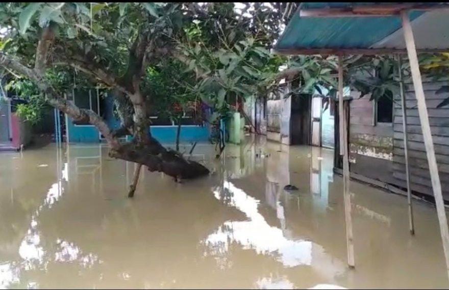 kondisi banjir (foto:duta tv)
