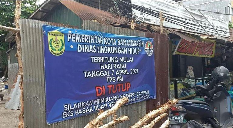 Spanduk Pengumuman Penutupan TPS (foto: Duta Tv)