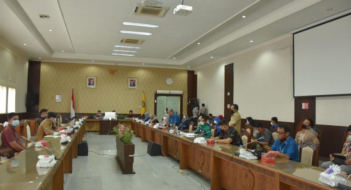 DPRD Kalimantan Selatan melakukan studi komparasi ke DPRD Kalteng (Foto: Duta Tv)