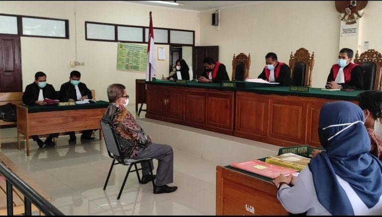 Sidang Dakwaan Mantan Bupati Balangan Ansharuddin