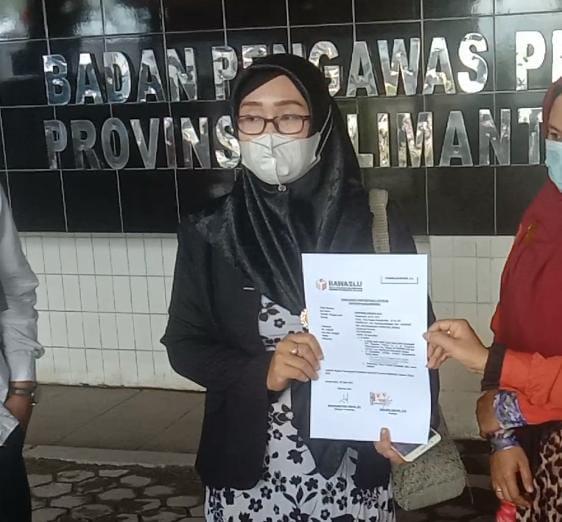 relawan Sahbirin Noor Muhidin melaporkan dugaan black campaign