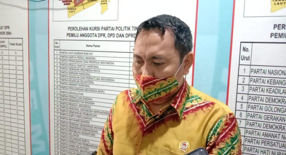 Abdul Muthalib Komisioner KPU Banjar.