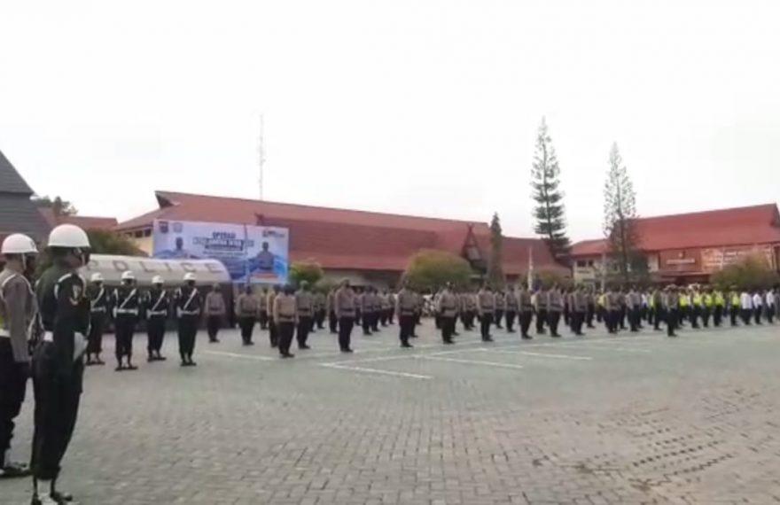 Apel Gelar Pasukan dalam rangka operasi kepolisian kewilayahan