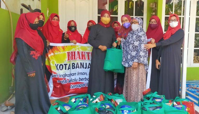 KKSS Berbagi Paket Sembako Ramadhan Kepada Warga dan Anak Yatim