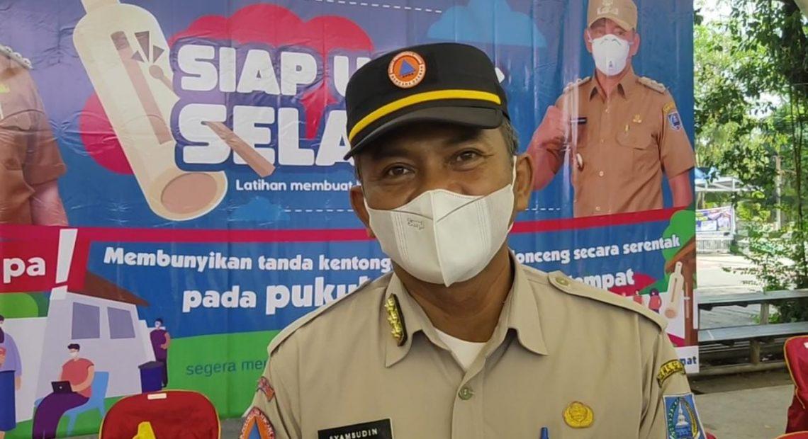 Syamsudin Kepala Pelaksana Bpbd Kabupaten Hulu Sungai Selatan.